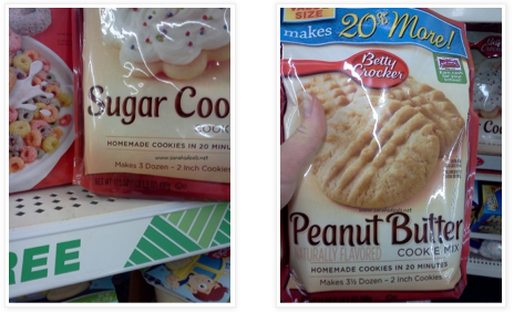 Screen shot 2012 11 01 at 11.41.48 AM Dollar Tree: Betty Crocker Cookie Mix Packages Only $0.50 each! (Sugar Cookie, Peanut Butter!)