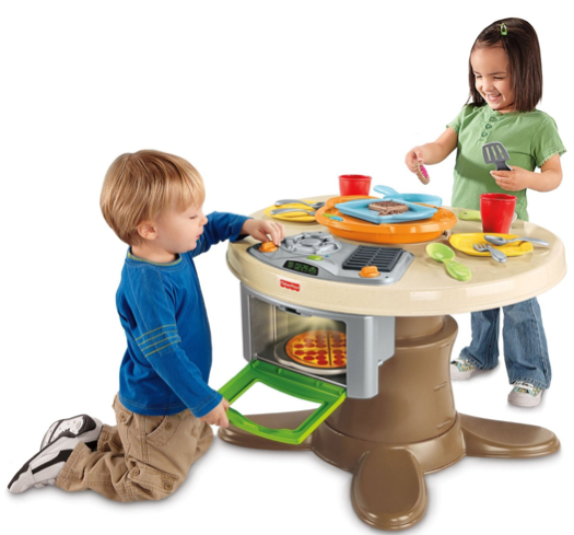 Screen shot 2012 11 10 at 8.15.31 PM Amazon: *HOT* Fisher Price Servin Surprises Kitchen & Table $29.99 Shipped (Reg. $80!)