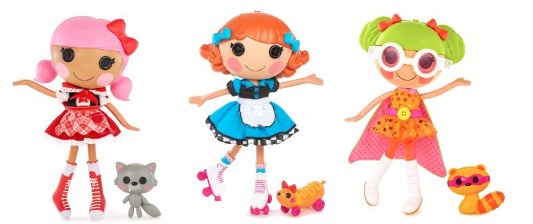 Screen shot 2012 11 22 at 7.39.49 PM *HOT* Amazon: 3 Different Lalaloopsy Dolls Only $16.99 Each Shipped (Reg. $24.99!)