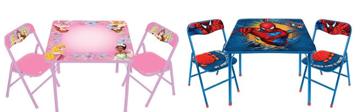 Screen shot 2012 11 24 at 12.47.26 PM *HOT* Kids Table and Chair Sets Only $20.39 + FREE Shipping (Reg. $50!) Disney, Spider Man, Thomas Train
