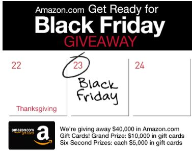 black LAST DAY: Enter to win $5,000 or $10,000 Amazon Gift Cards