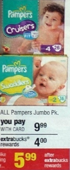 cvs pampers deal CVS:Pampers Baby Dry Diapers $3.99 each!
