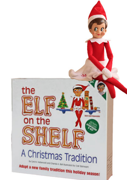 elf on the shelf2 The Elf on the Shelf (Light Skinned   Girl) Only $13.69 (Reg. $29.99!)