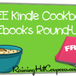 Top 9 FREE Cookbook Kindle Ebook Downloads Round-Up! (with Weight Loss Skinny Recipe Books!)