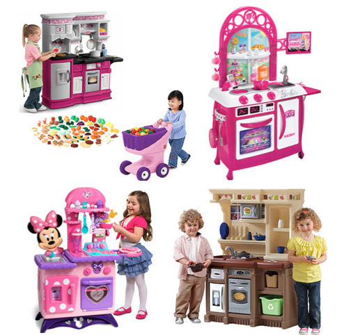 barbie, minnie mouse and other play kitchens only $50.00 shipped!