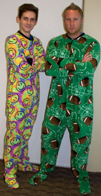 c6c5e779c Adult Footed Pajamas Only  9.99 (Reg.  49.95!)