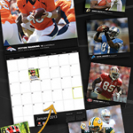 Custom NFL Calendar Only $12.00 Shipped (Add Lots of Images and Pictures on Specific Dates!) Perfect Gift