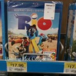 Rio Blu-Ray/DVD Combo Pack only $14.96!