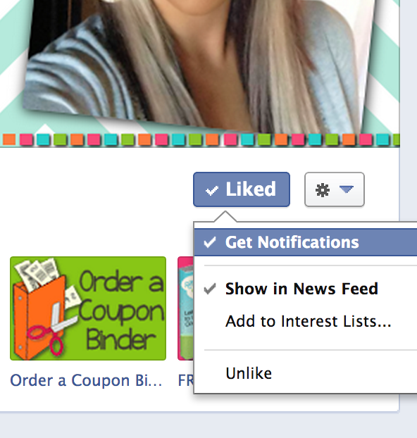 Screen Shot 2013 02 06 at 10.32.15 AM Important   Quick and Easy Facebook Tip to See Raining Hot Coupons in your NEWSFEED!