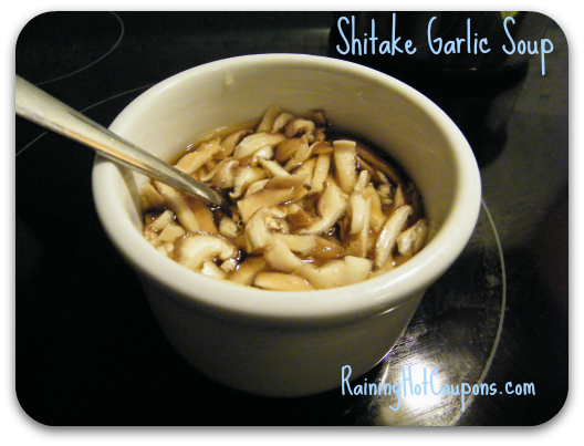 Shitake Garlic Soup Recipe