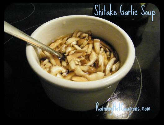 Shitake Garlic Soup Recipe