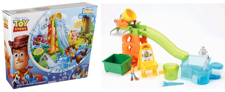 Toy Story Playground : Amazon toy story slide 'n surprise playground playset
