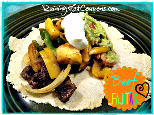 beef fajitas, recipe, Mexican, easy mexican food