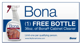 Hurry Over And Refer 3 Friends To Score A FREE Full Size Bottle Of Bona  Cabinet Cleaner ($8.49 Value!) + FREE Shipping! You Will Need To Subscribe  To Their ...