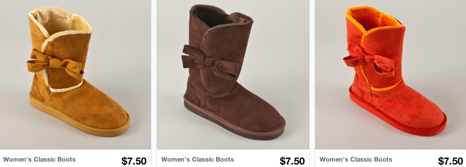 boots 2 *HOT* Womens Boots and Fur Boots Sale = Only $6.00 Shipped (Reg. $40+!)
