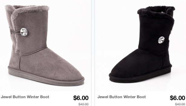 boots1 *HOT* Womens Boots and Fur Boots Sale = Only $6.00 Shipped (Reg. $40+!)