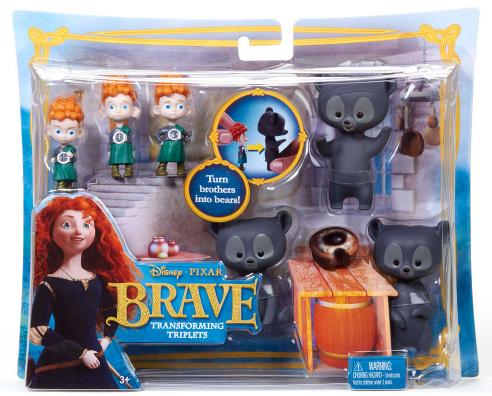 brave Disney/Pixar Brave Transforming Triplets Dolls Only $5.99 Shipped (Reg. $12.99!)