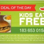 Kids Eat Free Chili's Coupon!