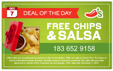Chili's Chips and Salsa