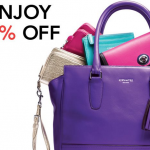 *HOT* Rare Coach 25% Off Full-Price Store Coupon