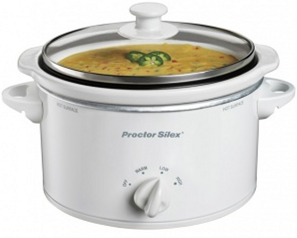 what a perfect way to give a nice gift for not much out of pocket there is an awesome kitchen sale going on right now where you can score crock pots for