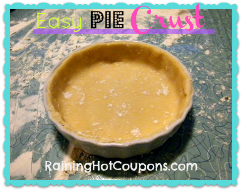 crust Easy Pie Crust Recipe