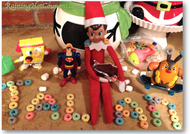 elf on the shelf idea Elf on the Shelf: Elfys Activity Tonight (Plus Buy Your Own and Start a Christmas Tradition!)