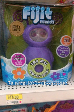fijit2 Walmart: *HOT* Large Fijit Friends Only $15.00 in the Store (See Picture in Post!) Reg. $50!!