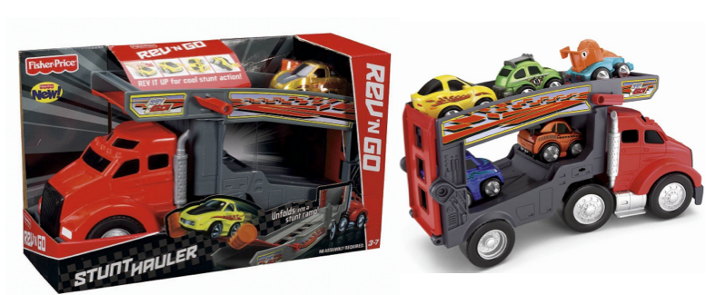 fisher price Amazon: Fisher Price Rev n Go Stunt Hauler Only $11.99 Shipped (Reg. $24.99!)