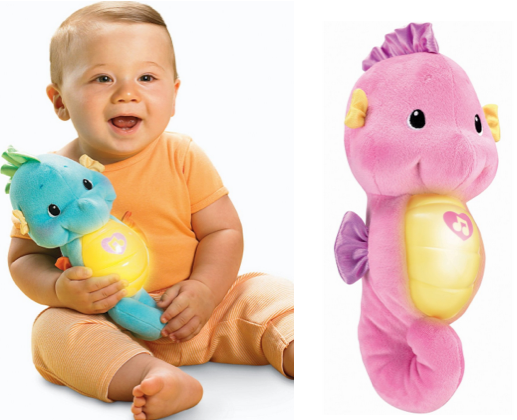 fisher price2 Fisher Price Ocean Wonders Soothe and Glow Seahorse $9.10 Shipped