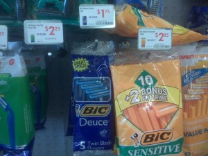 free bic razors at family dollar
