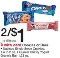 free quaker bars at walgreens