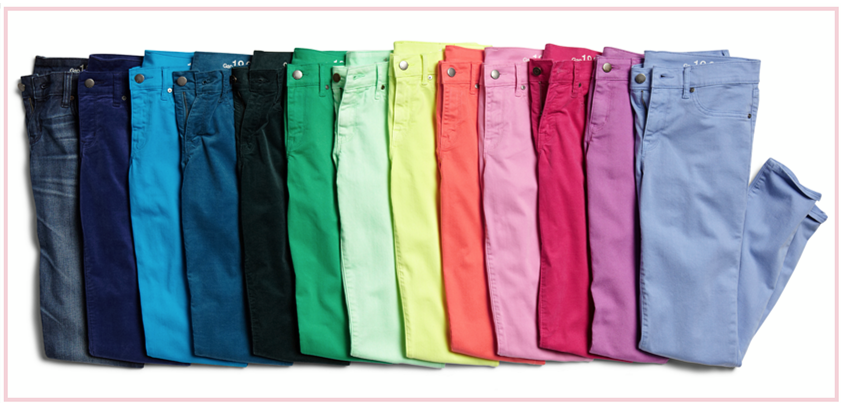 Gap: 40% Off ALL 1969 Denim (Colored Jeans and More!) TODAY Only