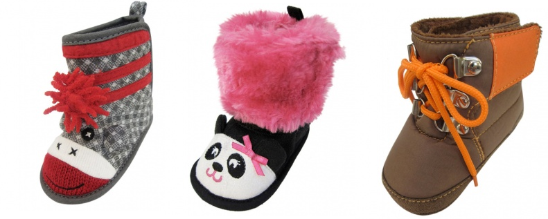 infant boots Infant Winter Boots Under $7.00 Shipped!