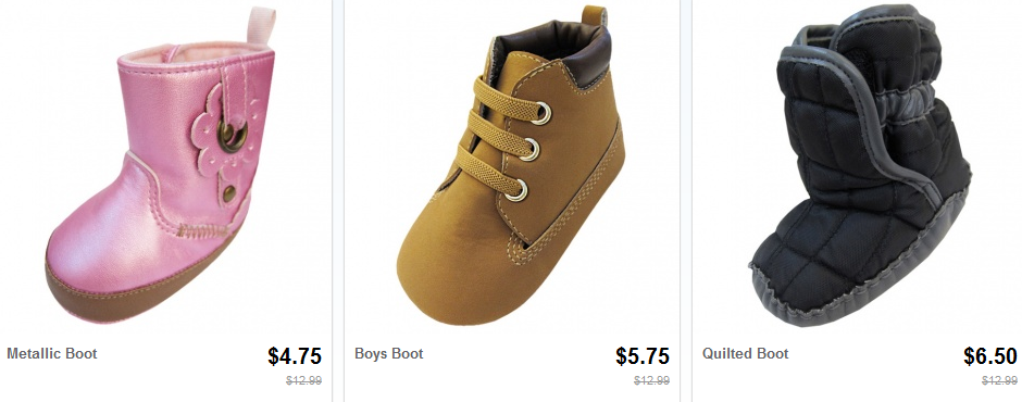 infant boots1 Infant Winter Boots Under $7.00 Shipped!