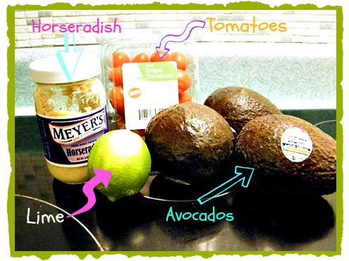 ingredients1 Guacamole Recipe