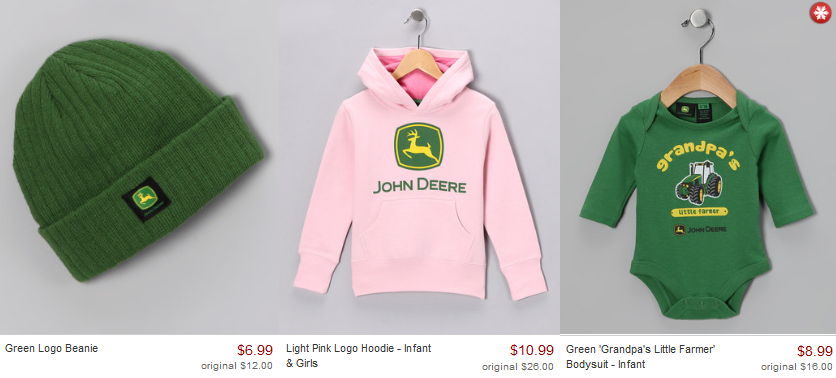 john deere kids clothing Zulily: John Deere Kids Clothing Starting at $6.99!
