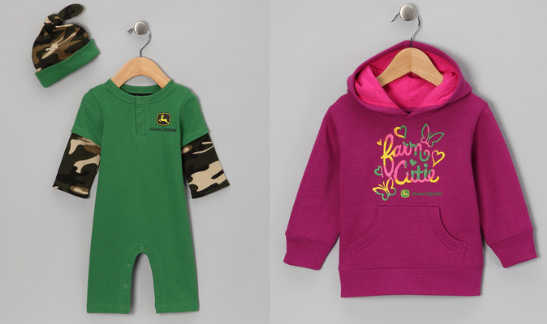 john deere kids clothing1 Zulily: John Deere Kids Clothing Starting at $6.99!