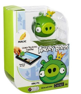 kingpig Amazon: Angry Birds King Pig only $3.49 shipped!