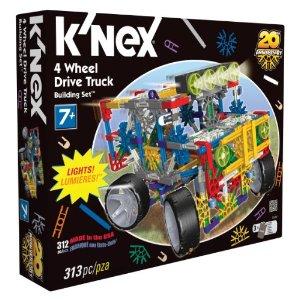 knex 4 wheel drive truck