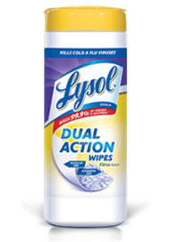 lysol Free Lysol Dual Action Wipes Rebate
