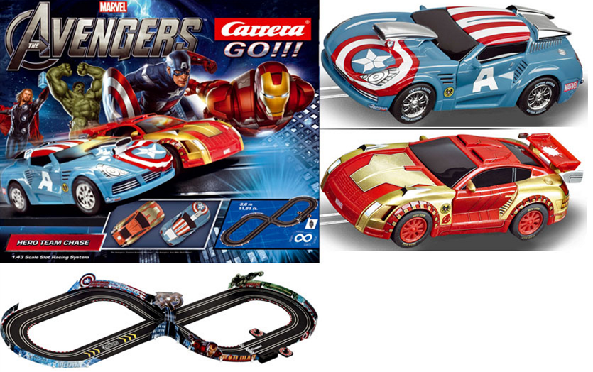 marvel Amazon: Carrera Marvel The Avengers Hero Team Chase Race Set $34.99 + FREE Shipping (Reg. $79.99!)