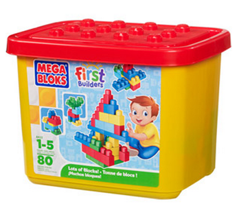 mega bloks Mega Bloks First Builders Lots of Bloks 80 pieces Only $10 Shipped (Reg. $34.99!)