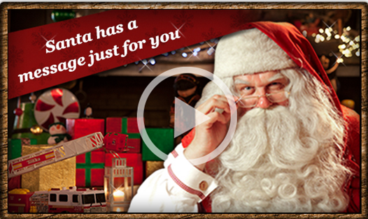 portable FREE Personalized Video from Santa for your Kids!