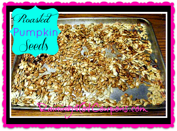 pumpkin seeds Seasoned and Roasted Pumpkin Seeds Recipe (Great Healthy Snack!)
