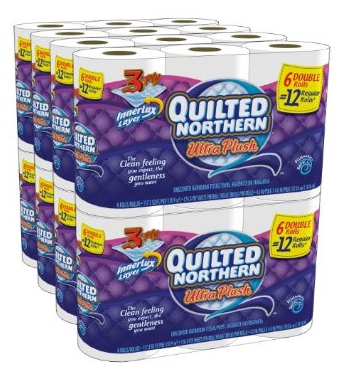 quilted Amazon: *HOT* Quilted Northern 48 Double Toilet Paper Rolls only $21.74 + FREE Shipping