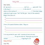 FREE Santa Letter + FREE Organizational Printables!