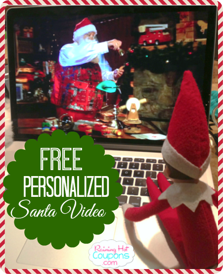santa FREE Personalized Video from Santa for your Kids!