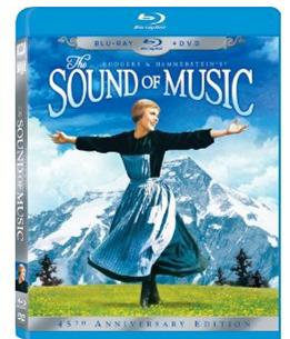 sound of music The Sound of Music (Three Disc 45th Anniversary Blu ray/DVD Combo) $14.96 (Reg. $34.99)
