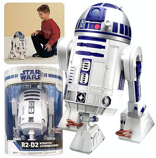star wars Star Wars R2 D2 Interactive Astromech Droid Robot Only $99.00 (Reg. $279.99) + FREE Shipping